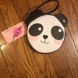 Betsy Johnson. Luv Betsy adorable panda wristlet
